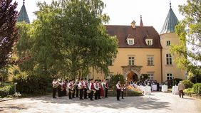 100 Jahre Bildungshaus Schloss St. Martin; Foto: Peter Purgar