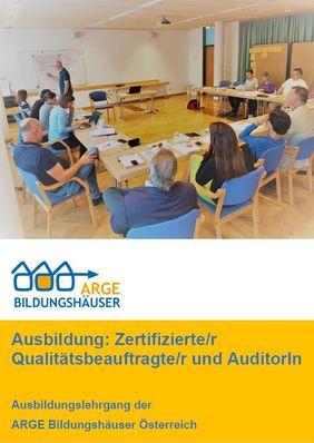 Ausbildung: Zertifizierte/r Qualitätsbeauftragte/r und AuditorIn