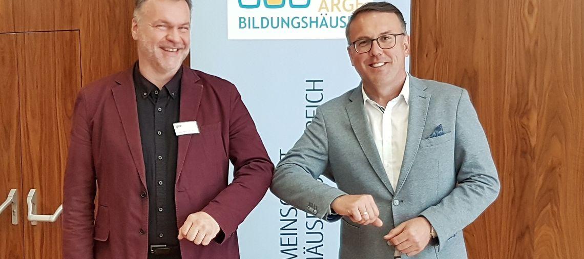Vorsitzwechsel von Günther Lengauer zu Erich Wagner-Walser